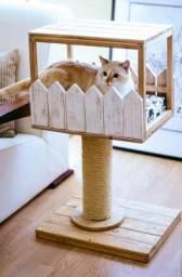 Caminha arranhador para gato