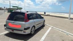 Peugeot 206SW legalizada c/som automotivo