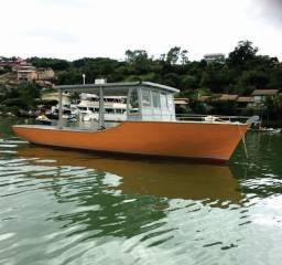 Barco para Pesca e passeio Motor Diesel