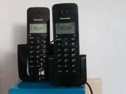 Telefone sem fio com ramal leia a descrição toda