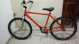 Bike aro 26, quadro alumínio toda no rolamento.pronta pra andar.