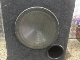 Caixa com Subwoofer 12 bravox usada