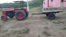 Trator de fazenda