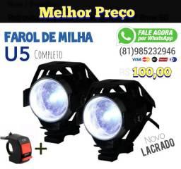 Farol Extra Forte para Moto 00043