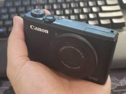 Câmera Fotográfica Canon S110 f2.0 + 3 Baterias Originais + Case