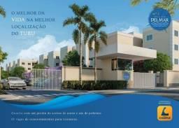 52- Village Del Mar -3 quartos - Localização privilegiada - Entrada facilitada