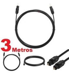 Cabo de Áudio Digital Óptico 3 Metros Xtrad