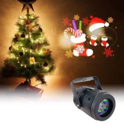 Novo floco de neve luz laser projetor Natal movimento de Dezenhos