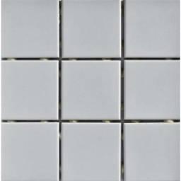 Pastilha 10x10 cinza