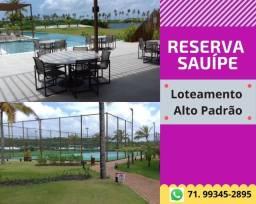 Reserva Sauípe , lotes com completa infraestrutura, pagamento facilitado em até 150 meses
