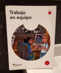 """Livro """"Trabajo en equipo"""" com CD"""