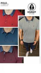 Camisa Gola Polo Slim