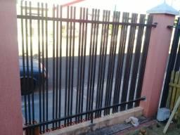 Grades de muro 3 lances medidas 2x30 por 1x80 em perfeito estado