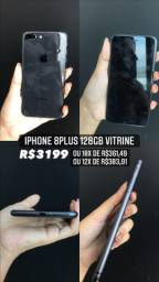 IPHONE 8PLUS VITRINE 128GG PRETO