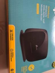 Modem Router na caixa 300Mbps