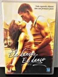 DVD original Ela dança eu danço