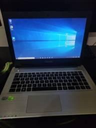 Notebook Asus Intel core i7 com placa de vídeo em até 12x