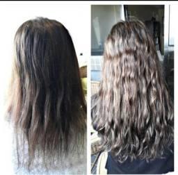 Aplicação de Mega Hair no norzinho