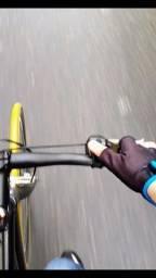 Título do anúncio: Buzina Bicicleta eletrônica. Som alto. Preto