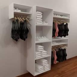 Armário + caideiros araras para loja e closet 100% mdf (11) 93276.3674 whats