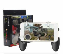 Kit Gamepad + Botão R1 L1 + Analógico  para Celular