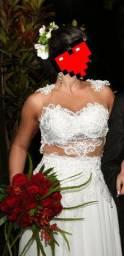 Vende-se vestido de noiva - 2 em 1