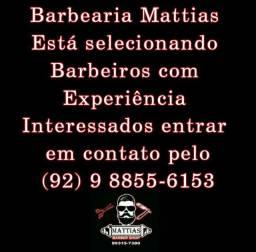 Barbeiros com experiência