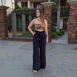 Título do anúncio: Pantalona Linho