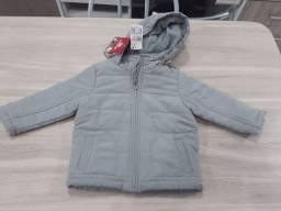 Jaqueta infantil forrada tamanho 2 anos