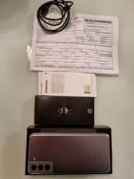 Novíssimo!! Galaxy S21 Plus 128Gb. Completo, caixa e nota. Garantia até 05/22