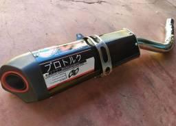 Escapamento Pro Tork V3 para Falcon 2000 a 2008
