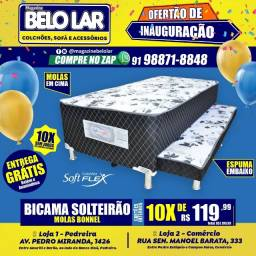 Bi-cama Bibox Solteirão, Compre no zap *