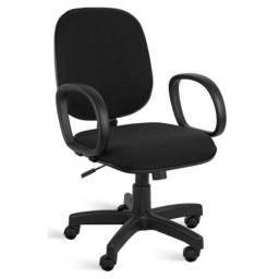 Cadeira Presidente baixa lisa braço corsa