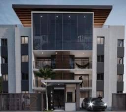 Apartamento com 2 quartos um prédio com salão de festas, piscina e elevador. Em construção