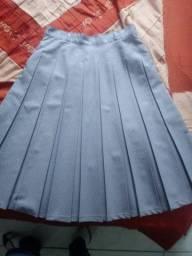 Lote de saias, vestido e conjuntinho