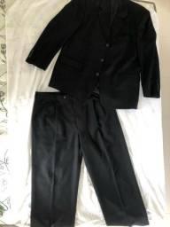 PROMOÇÃO!!! Terno e calça social pretos masculinos Arrow!!