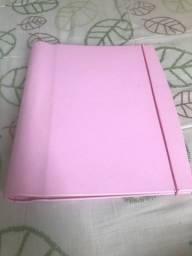 Fichário rosa claro (DELLO)