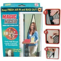 Cortina Mosquiteiro Tela Protetora Para Insetos Mosquito Magic Mesh