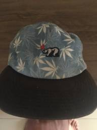 Boné Official Weed Azul