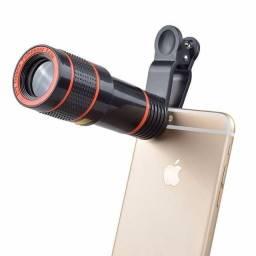 Título do anúncio: Super lente Luneta telescópio para celular