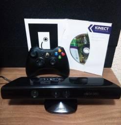 Kinet  Xbox + Controle + Jogo Original (Adventures)