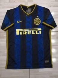Camisa Inter de Milão Temp 2021 Entrego