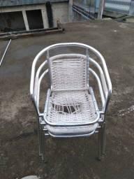 Cadeira pra reforma de alumínio