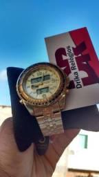 Título do anúncio: Relógio atlantis dual time