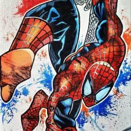 Quadro do homem aranha
