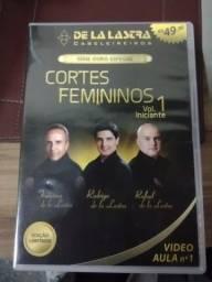Curso completo em coleção de dvd para cabelereiros De La Lastra
