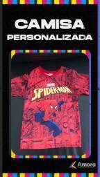 Título do anúncio: Adquira já sua Camisa do seu Personagem favorito.