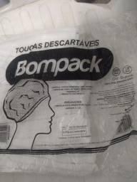 Toucas descartáveis Bompack