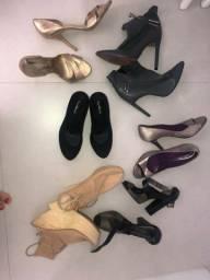 Combo sabatos e sandálias
