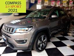 Título do anúncio: Jeep Compass Sport *Baixíssimo KM*